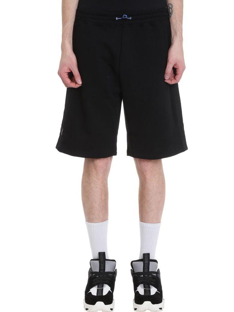 Ben Taverniti Unravel Project Basket Black Cotton Shorts - Black