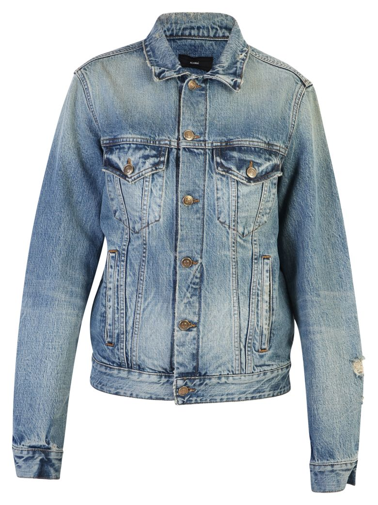 Alanui Denim Jacket - Blue