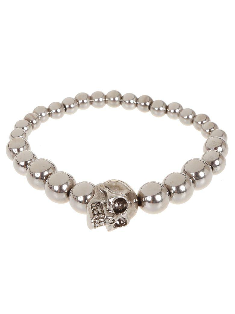Alexander McQueen Skull Beaded Bracelet -  Mcq0911silantil
