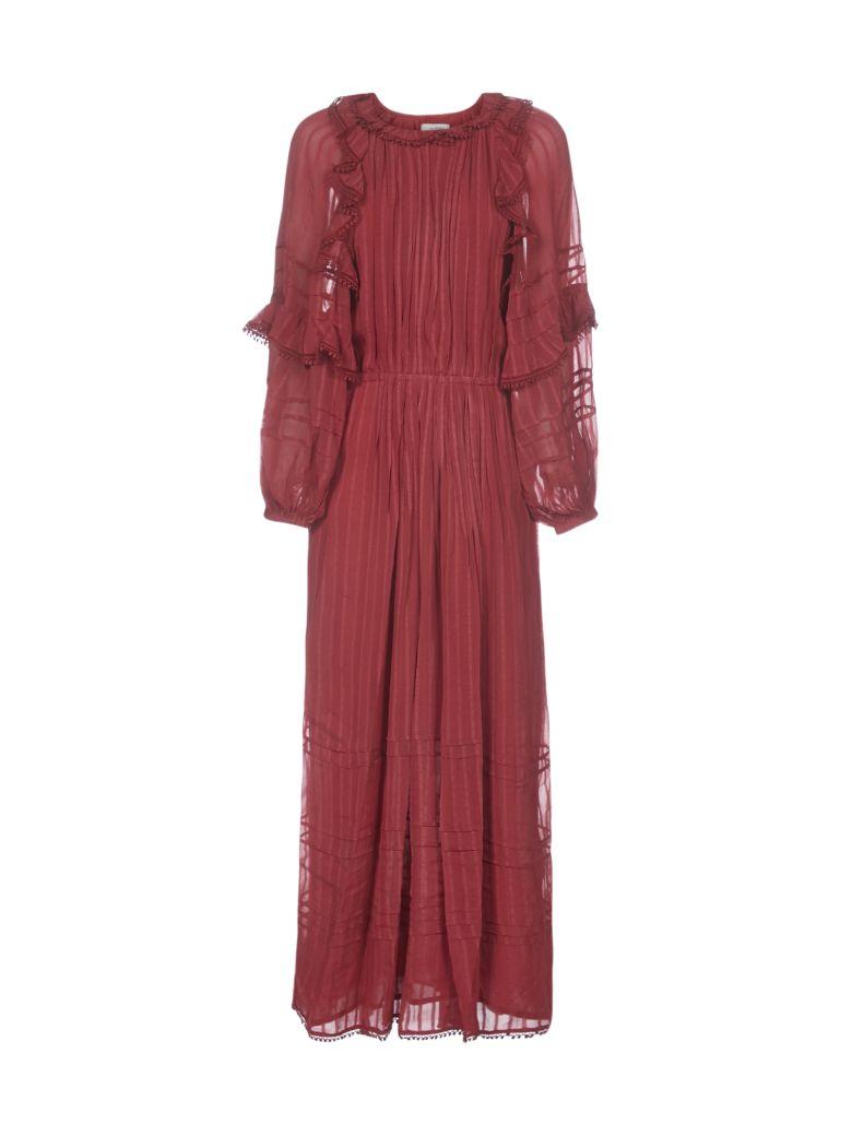 Isabel Marant Étoile Justine Dress - Rust