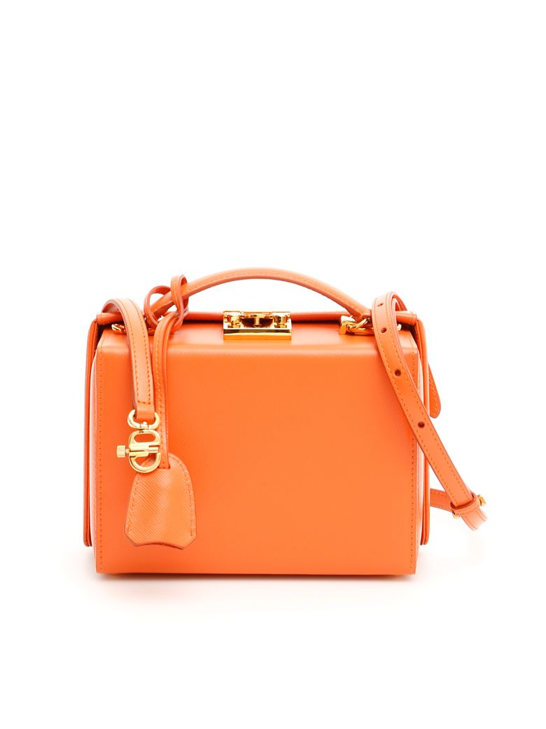 Mark Cross Small Grace Bag - PUMPKIN (Orange)