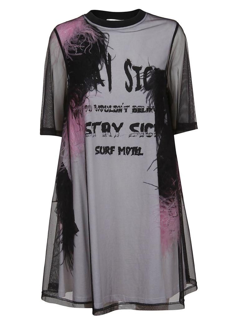 McQ Alexander McQueen Mcq Oversized Layered T-shirt - Darkest Black/white