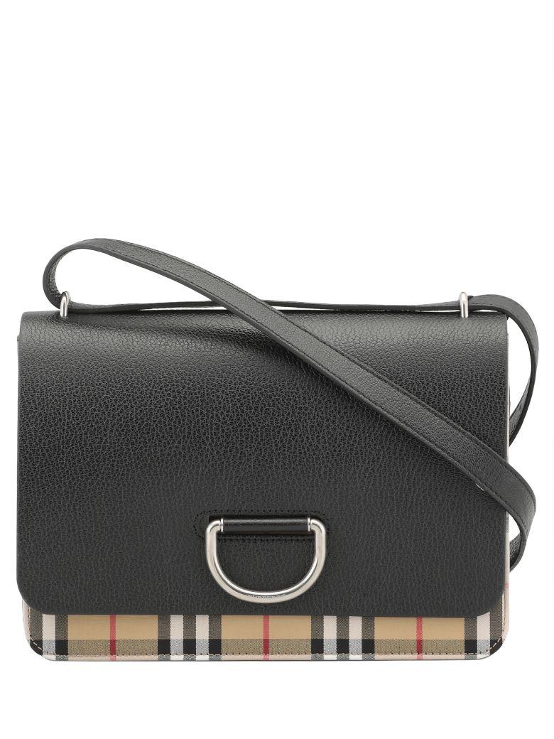 Burberry Medium D-ring Bag - BLACK