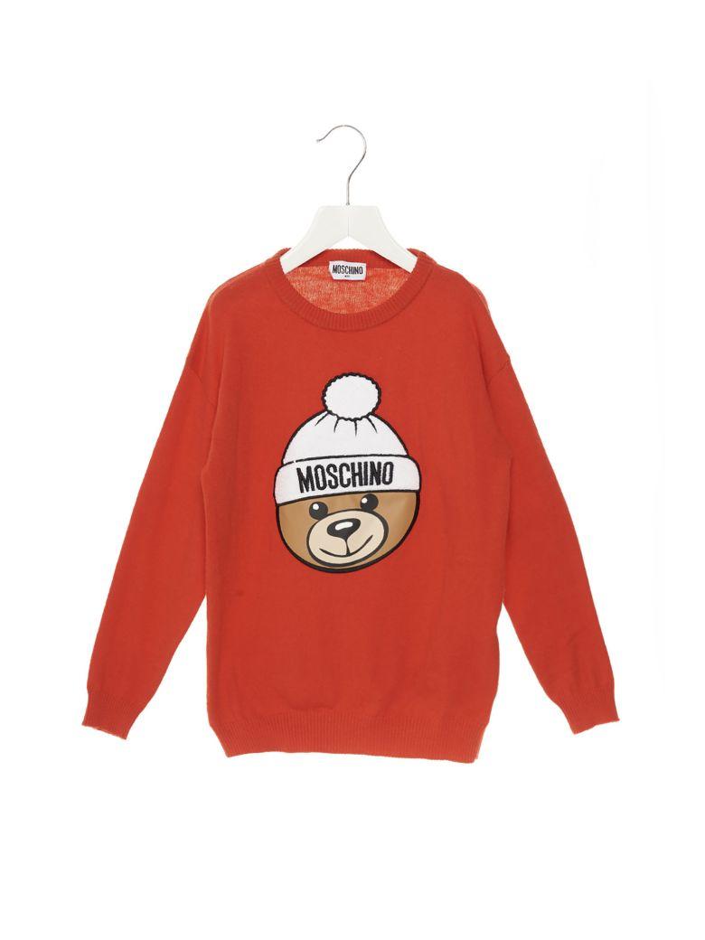Moschino 'teddy' Sweater - Red