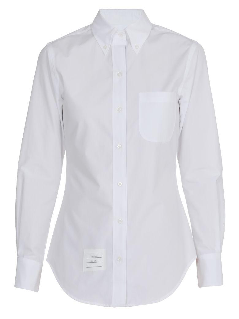 Thom Browne Cotton Shirt - WHITE