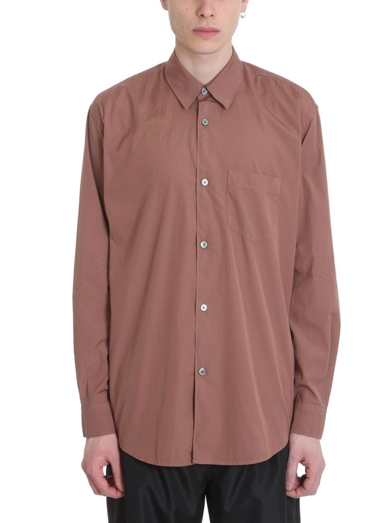Our Legacy Intial Pink Cotton Shirt - Basic