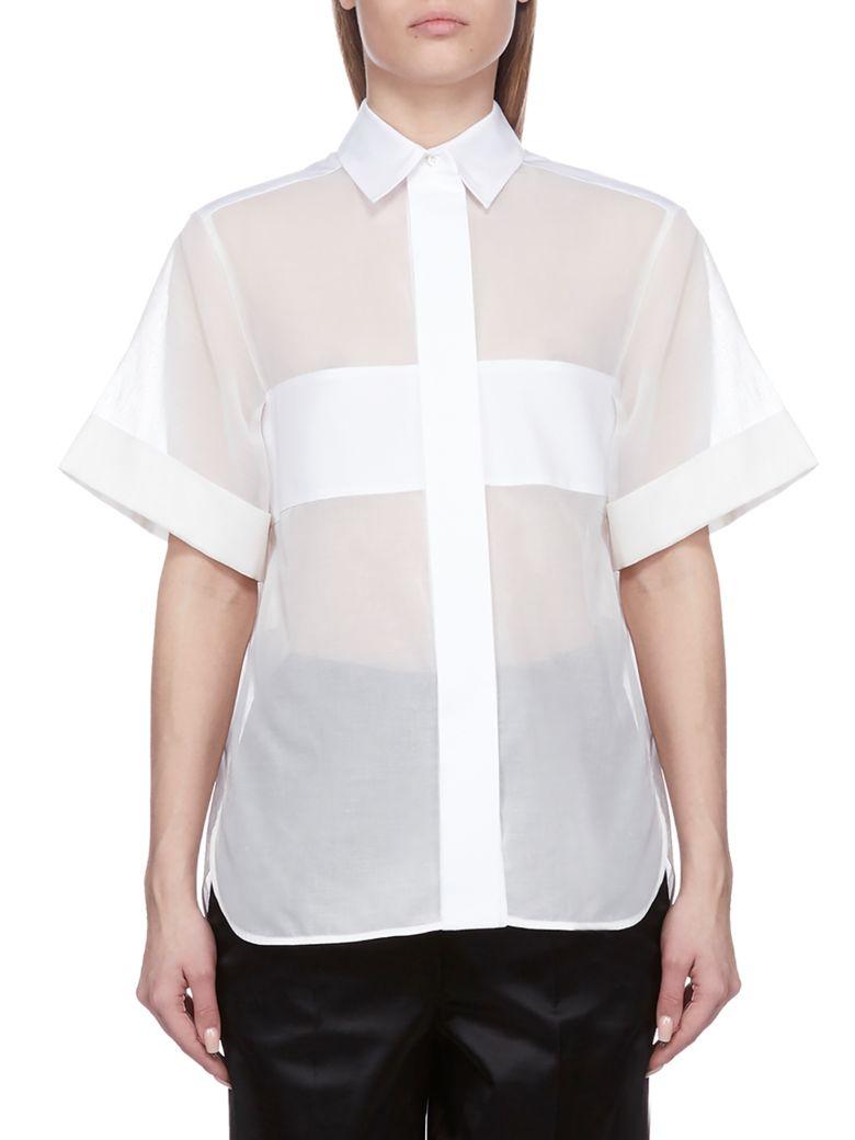 SportMax Arizona Shirt - Bianco blu