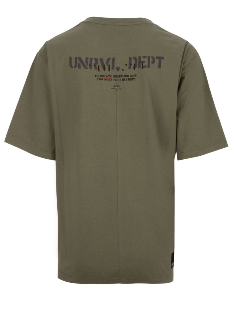 Ben Taverniti Unravel Project T-shirt - Military green