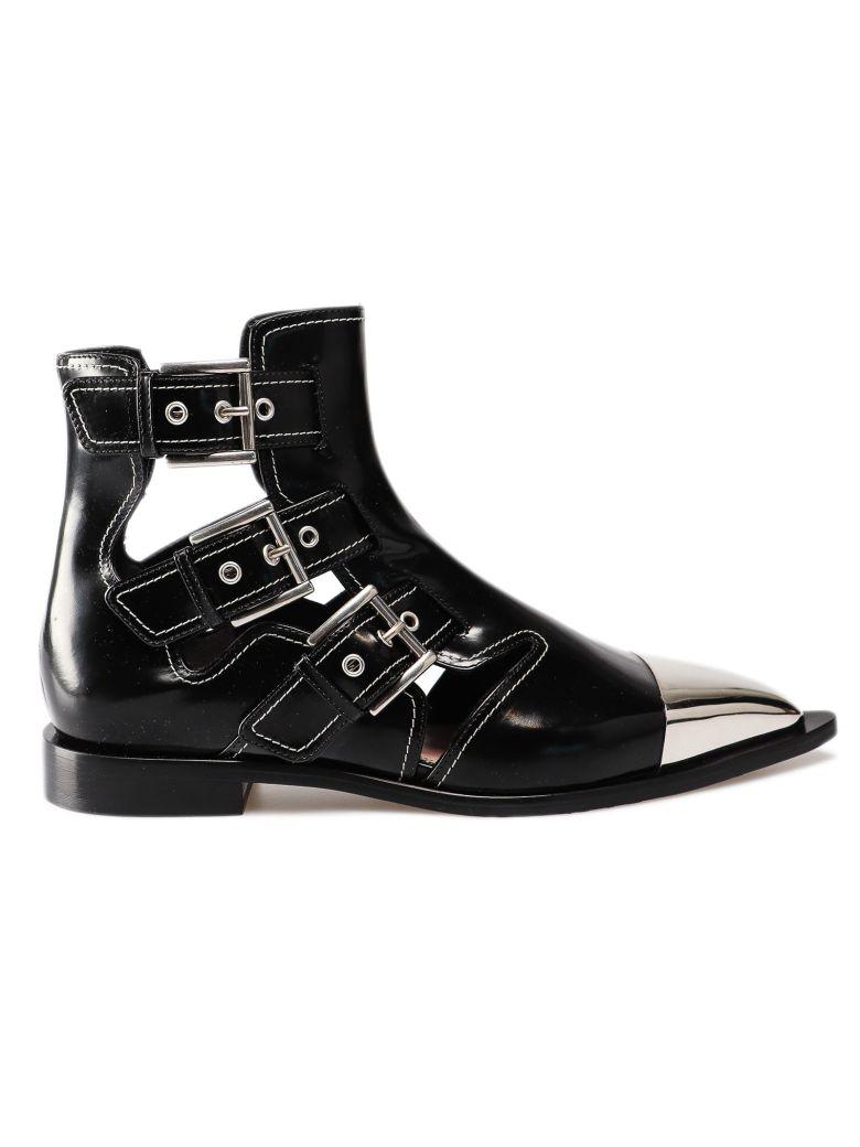 Alexander McQueen Buckled Boots - Basic