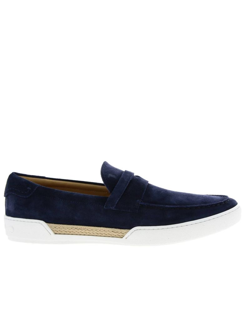 Tod's Loafers Shoes Men Tod's - blue