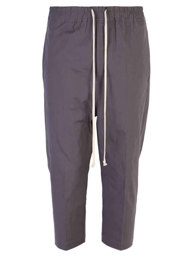 Rick Owens Drop Crotch Trousers - Blue