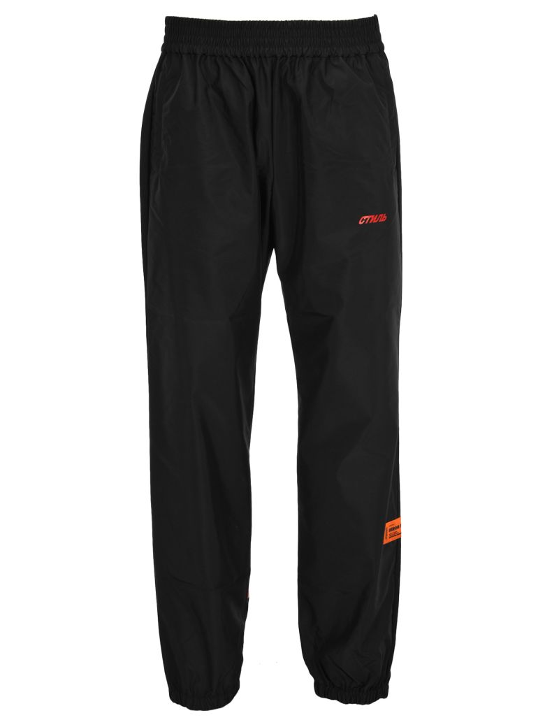 HERON PRESTON Jogging Elsatic Nylon - Black