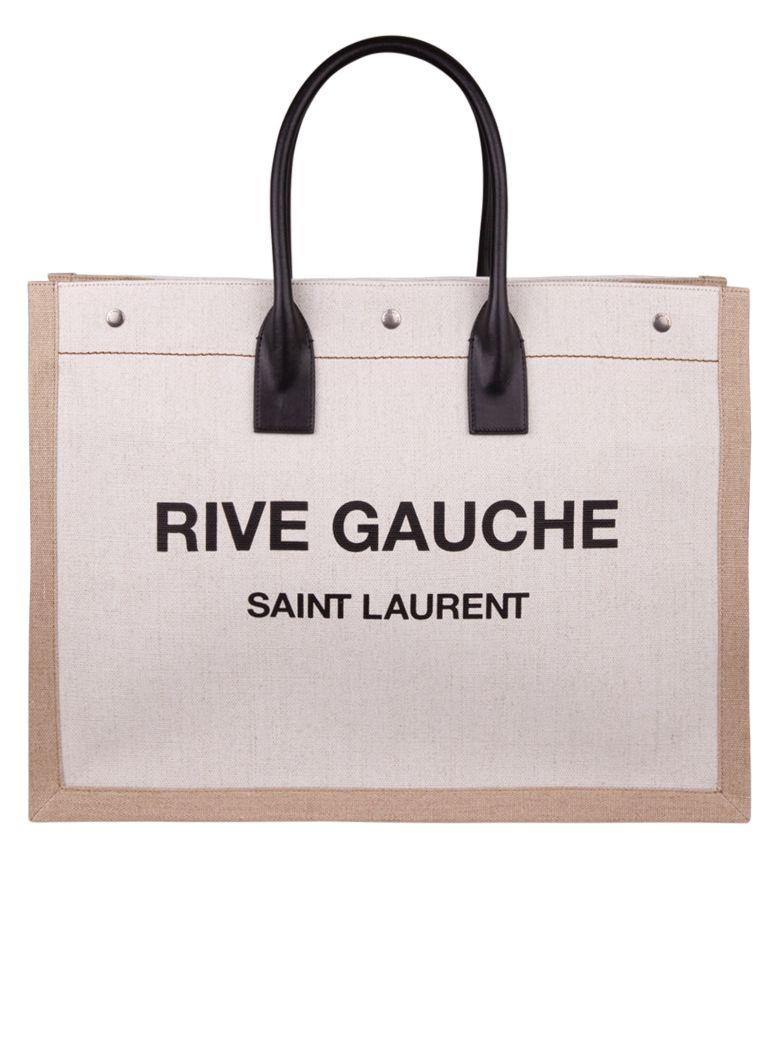 Saint Laurent Tote Bag - Cream