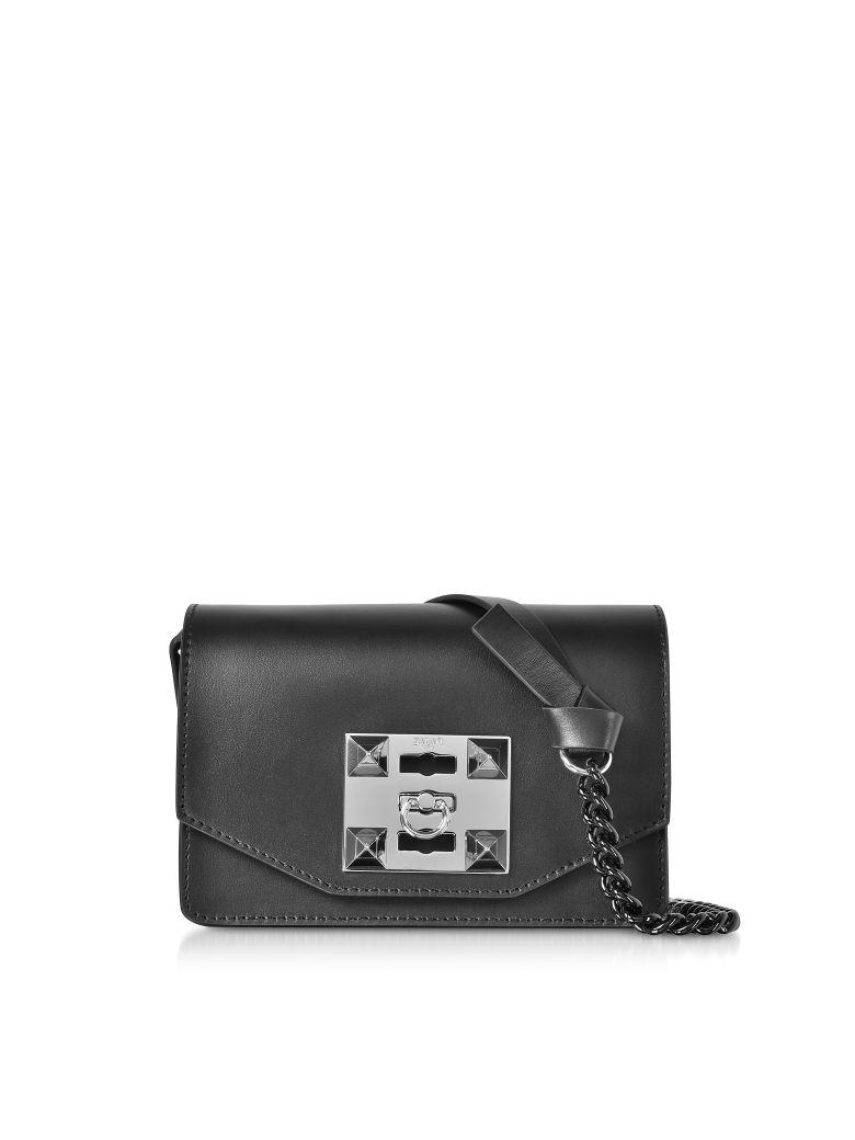 Salar Sylvie Chain Shoulder/belt Bag - Lime