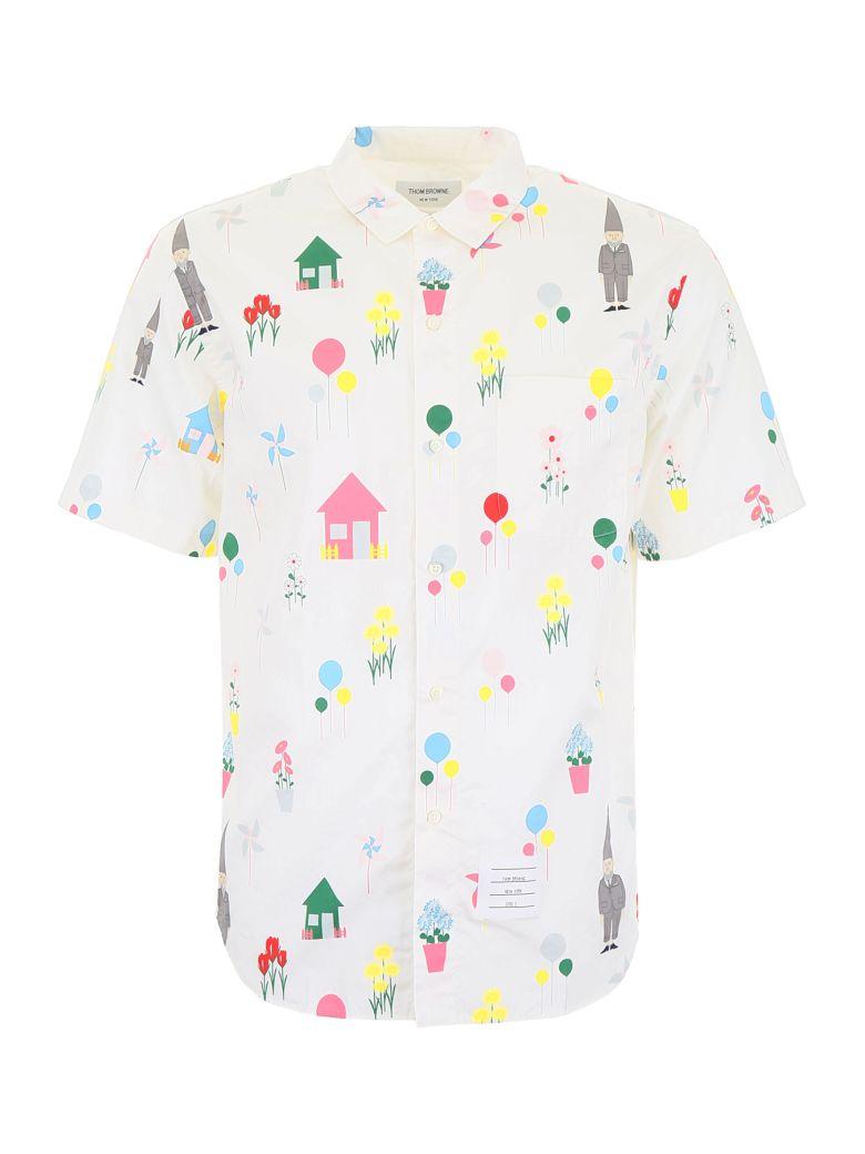 Thom Browne Gnome Print Shirt - Basic