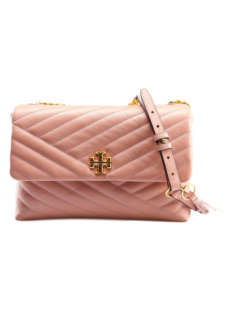 Tory Burch Kira Chevron Shoulder Bag - Pink Moon