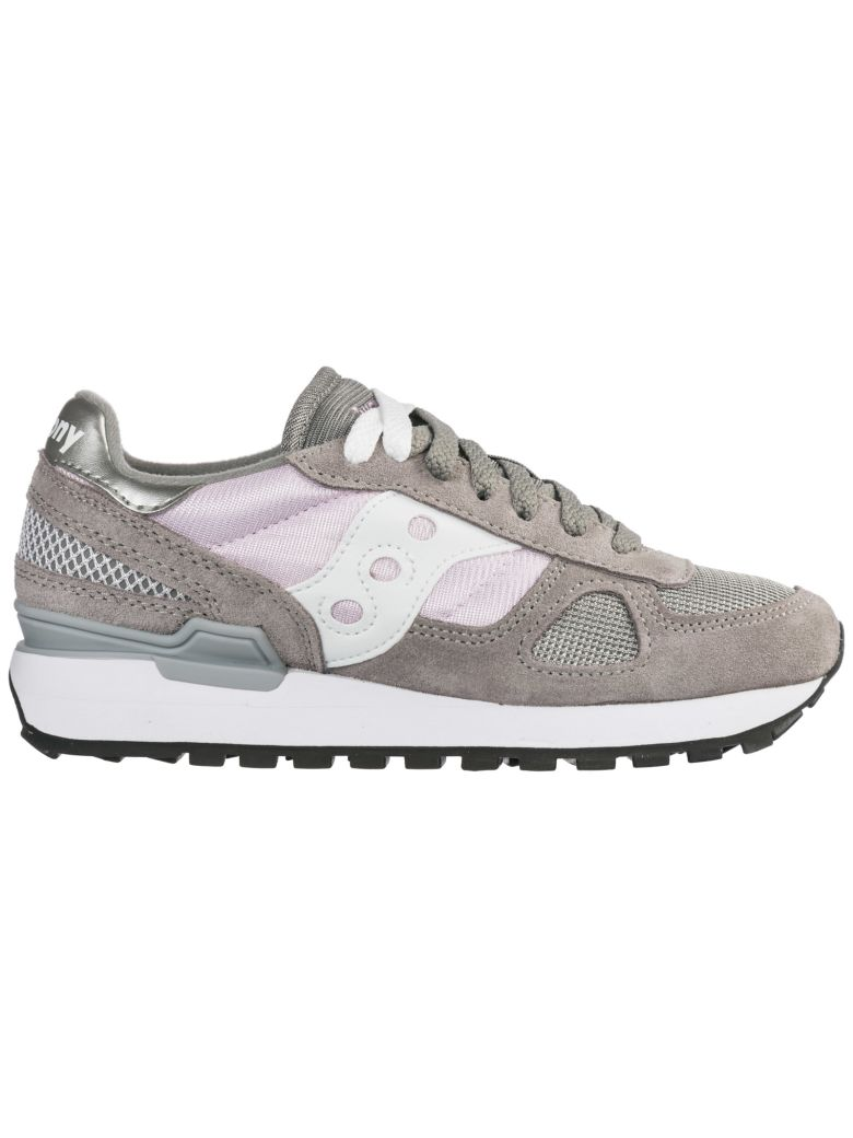 Saucony  Shoes Suede Trainers Sneakers Shadow O - Gray