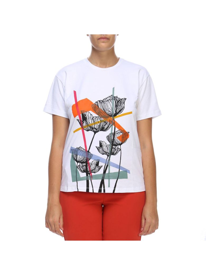 Marina Rinaldi T-shirt T-shirt Women Marina Rinaldi - white