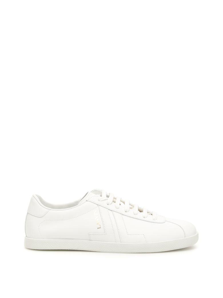 Lanvin Leather Jl Sneakers - WHITE (White)