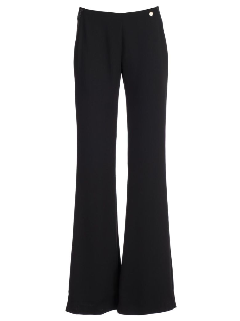 Versace Collection Flared Trousers - Nero