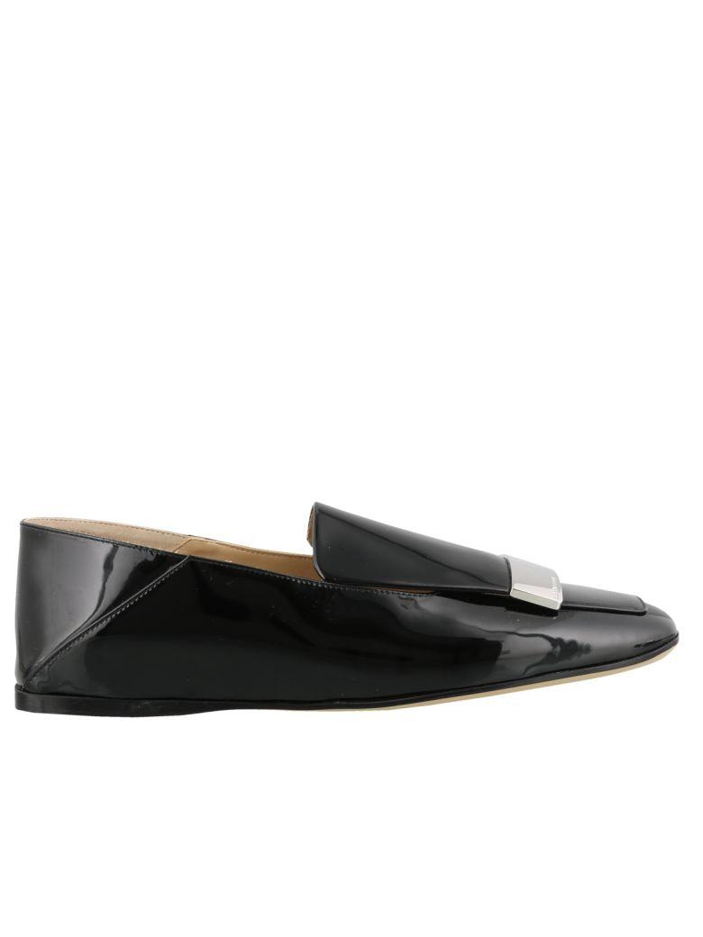 Sergio Rossi Sr1 Slippers - Black