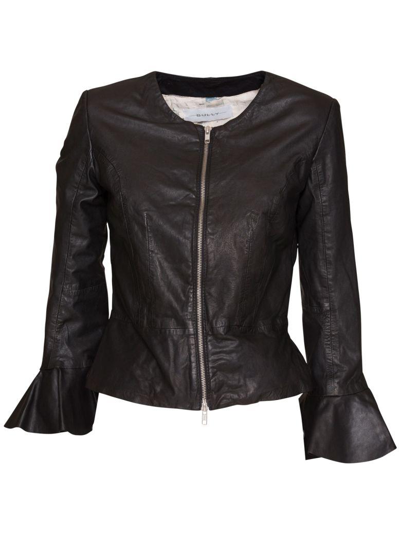 Bully Leather Jacket - NERO