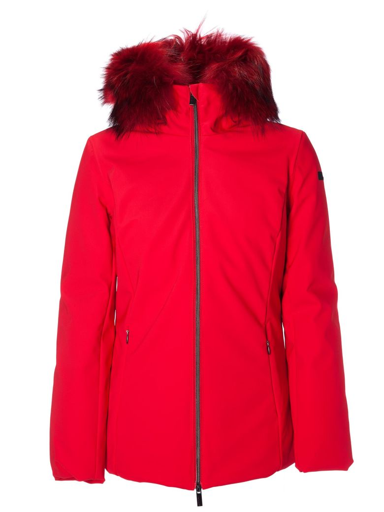 RRD - Roberto Ricci Design Rrd Feathered Hooded Jacket - Red