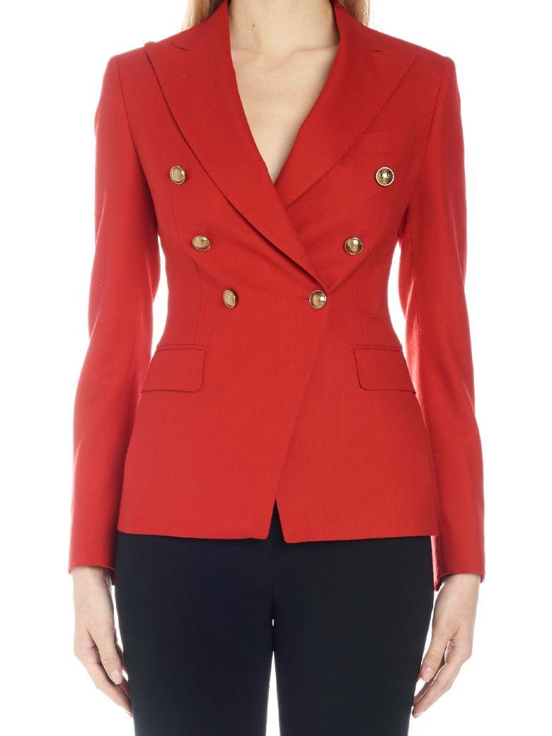 Tagliatore 'j-alycia' Jacket - Red