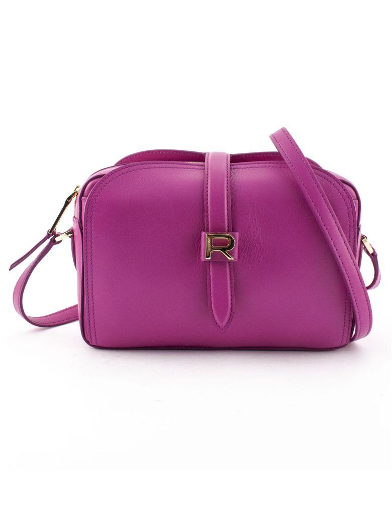 Rochas Fuchsia Leather Mini Bag - Fuxia
