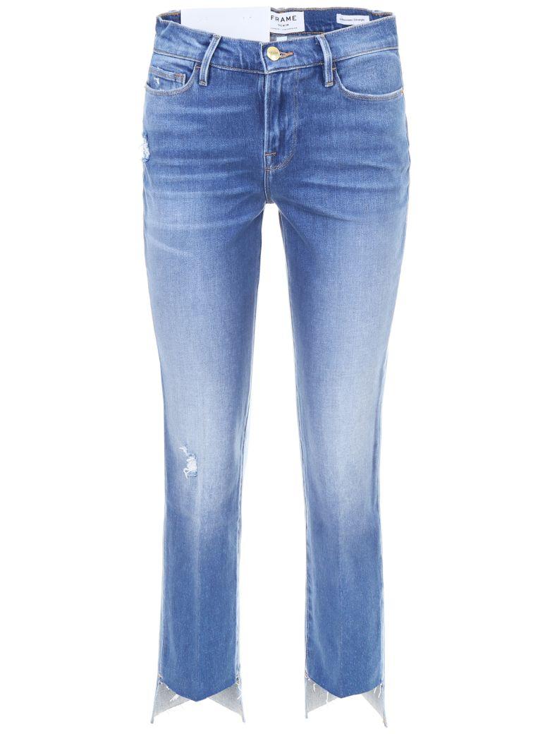 Frame Le Nouveau Straight Jeans - PINEROCK (Blue)