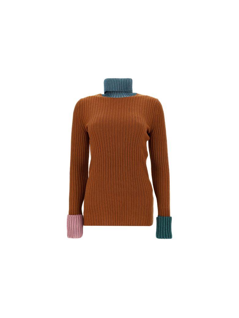 Lanvin High Neck Sweater - Wood