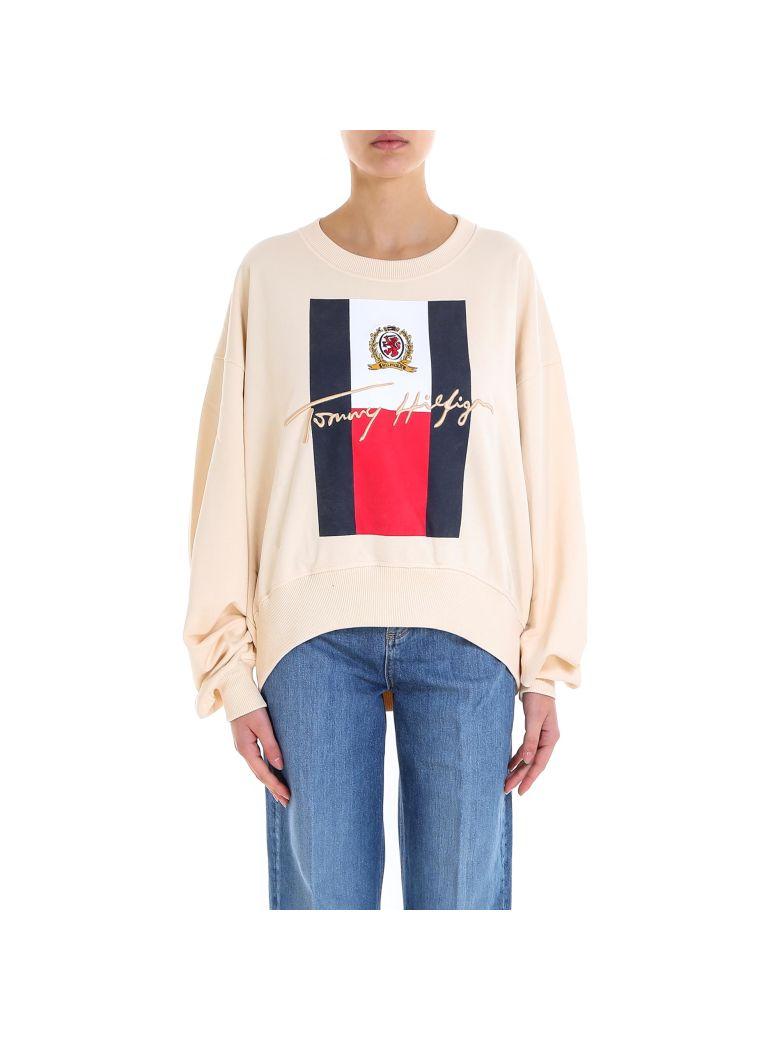 Tommy Hilfiger Collegiate Sweatshirt - Beige