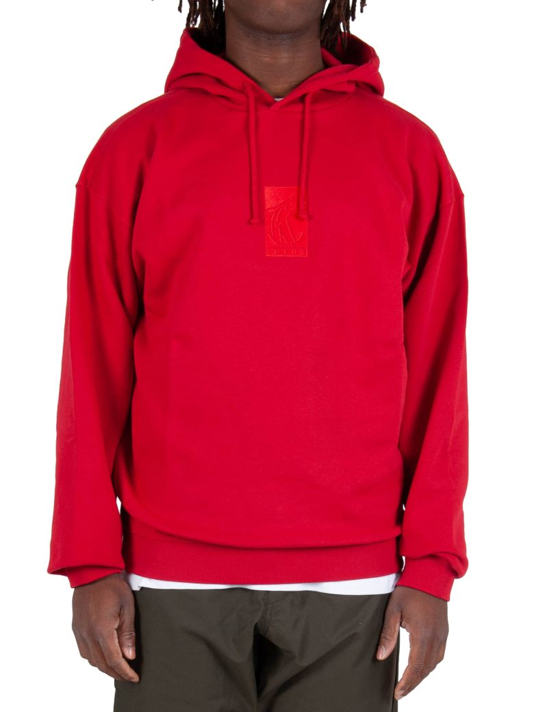 Futur Flat Hoodie - Red - Rosso