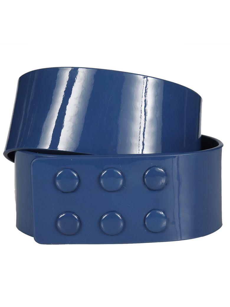 Paule Ka Leather Belt - Encre