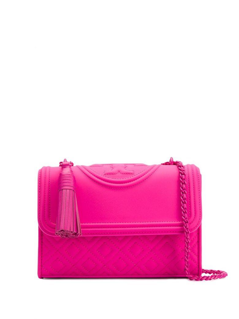 Tory Burch Fleming Shoulder Bag - Crazy Pink