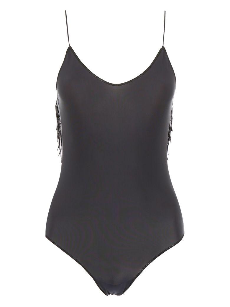 Oseree Pearls Swimsuit - BLACK (Black)