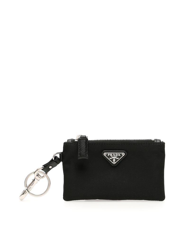 Prada Nylon Key Pouch - NERO (Black)