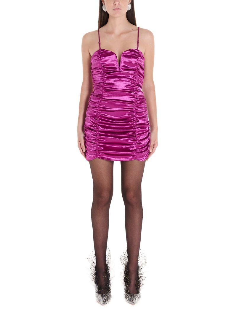 For Love & Lemons 'stevie Metallic' Dress - Purple