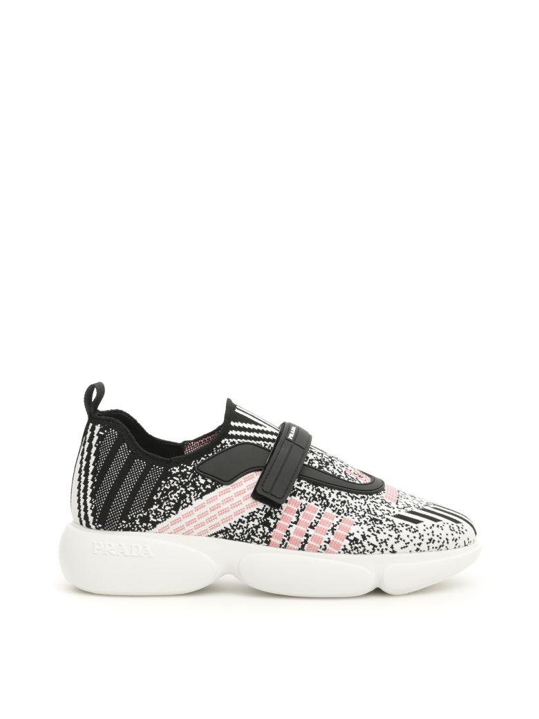 Prada Cloudbust Sneakers - BIANCO ROSA (Black)