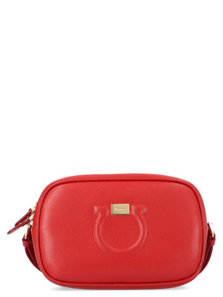 Salvatore Ferragamo 'city Cc' Bag - Red
