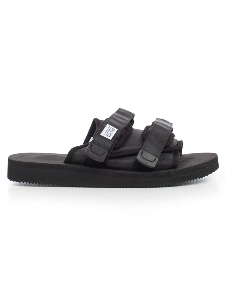 SUICOKE Buckle Sandals - Black