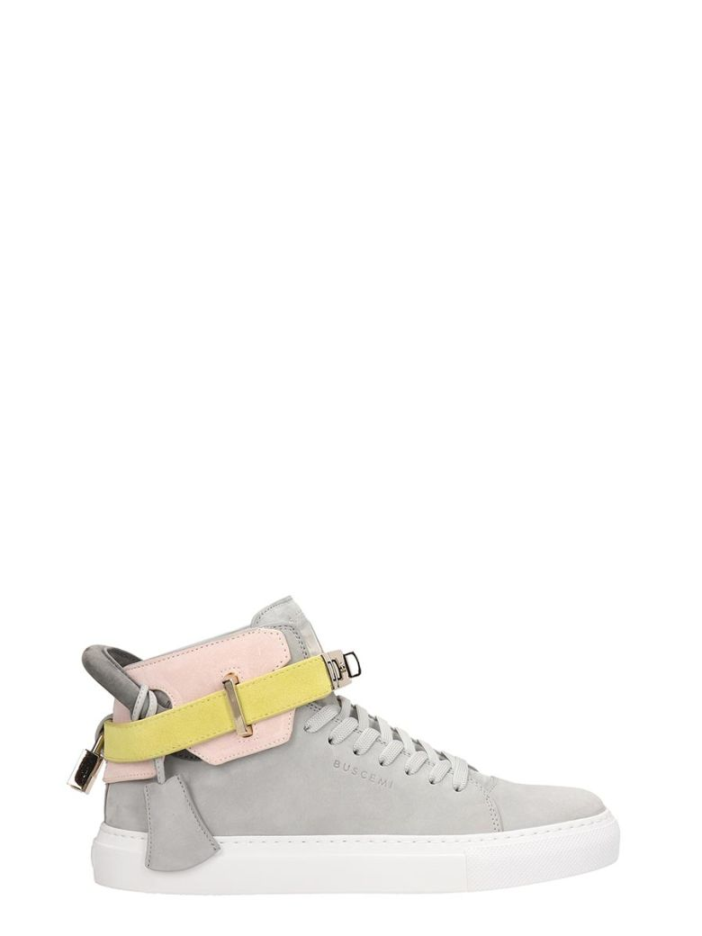 Buscemi 100mm High-top Sneakers - grey