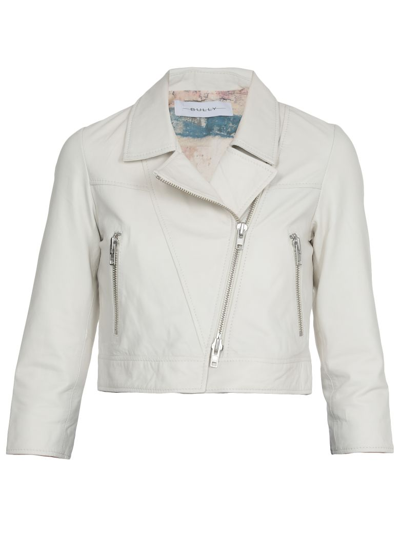 Bully Leather Jacket - White