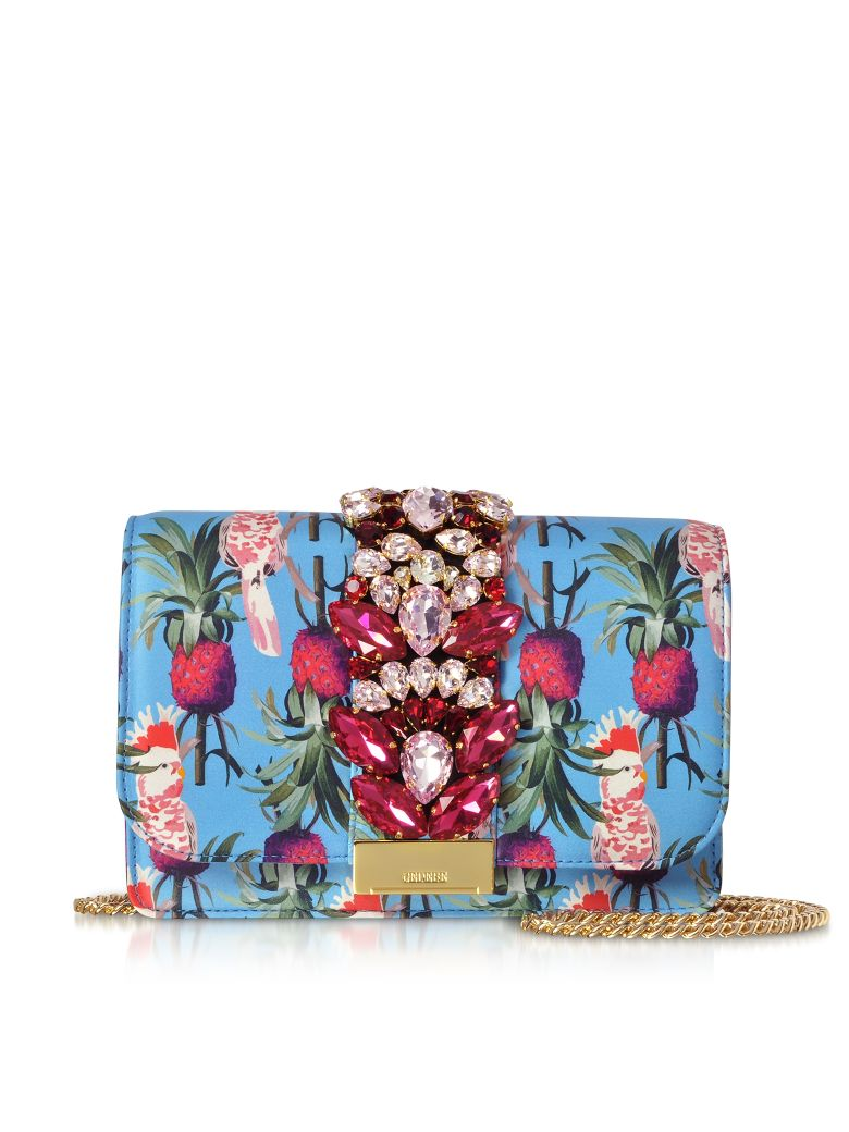 Gedebe Cliky Azure Parrot Clutch - Blue