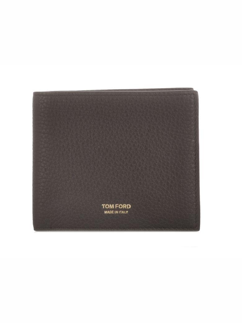 Tom Ford Tom Ford Logo Bifold Wallet - Blk Black