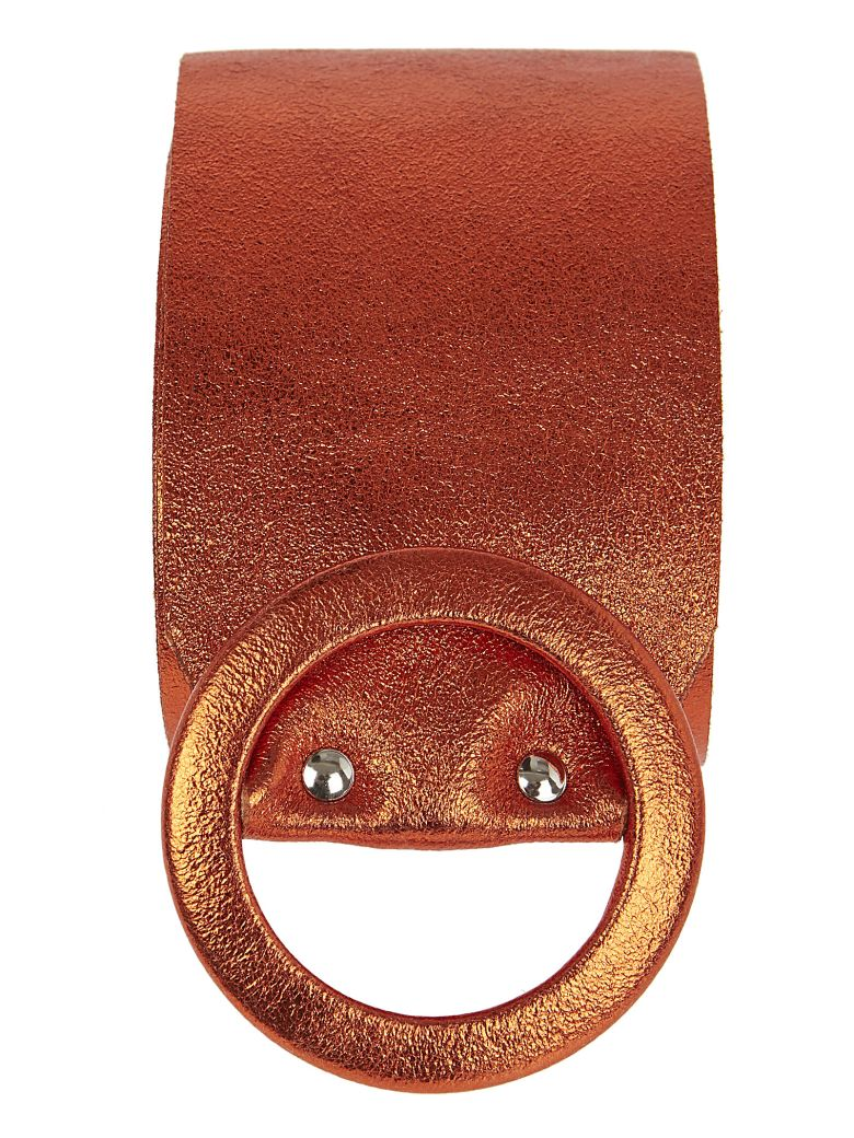 aniye by Round Buckle Belt - Arancione
