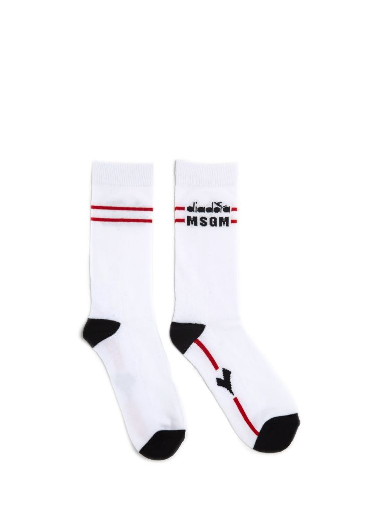MSGM Socks - White