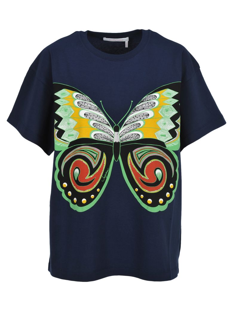 See by Chloé See By Chloe' Tshirt Butterfly - Blue