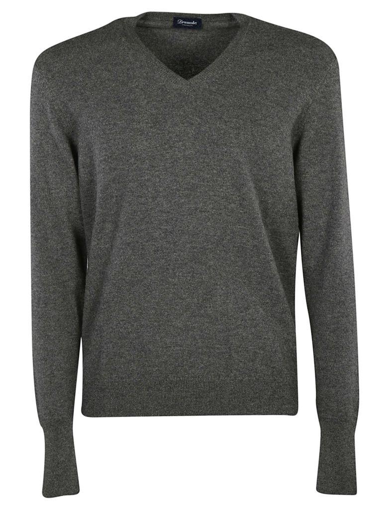 Drumohr Knitted V-neck Sweatshirt - 670