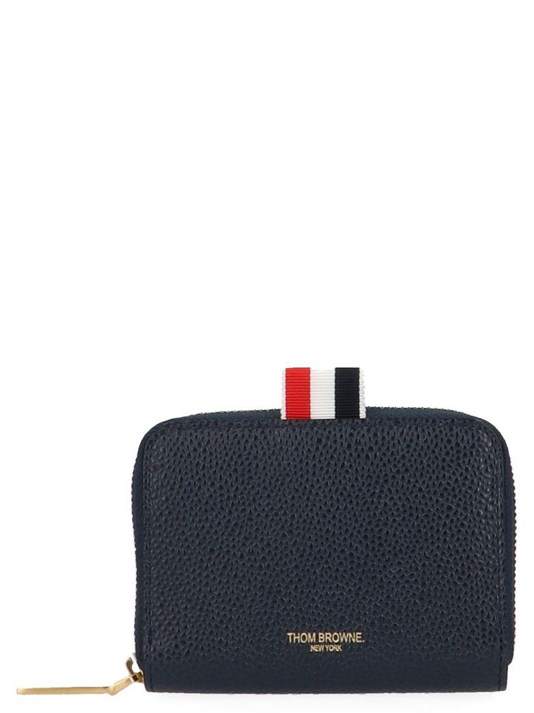 Thom Browne 'slim Short' Wallet - Blue